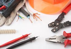 Werkzeug für Elektroarbeiten